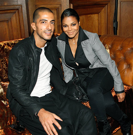 Janet Jackson and Wissam Al Mana
