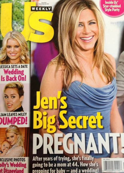 Jennifer Aniston Is Finally Pregnant (Photo)