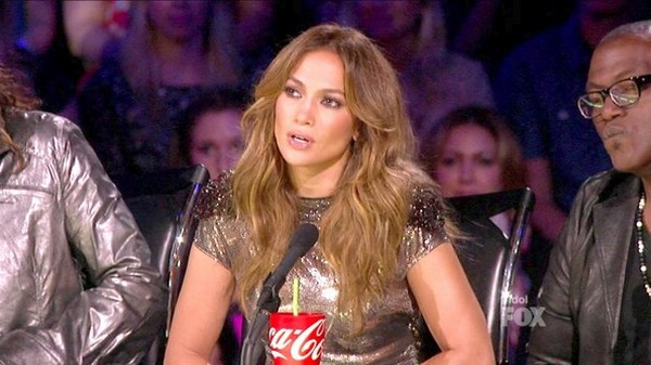 Jennifer Lopez on American Idol