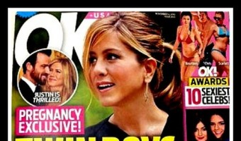 Jennifer Aniston Pregnant With Twin Boys, Justin Theroux Ecstatic?