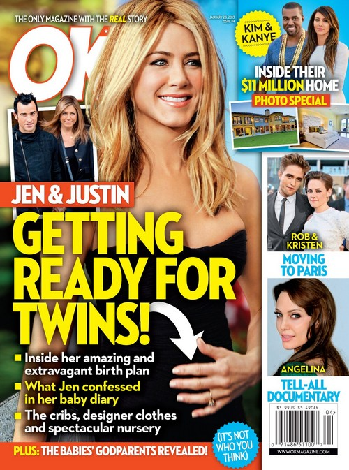 Jennifer Aniston Getting Ready For Twins - Inside Her Birth Plan