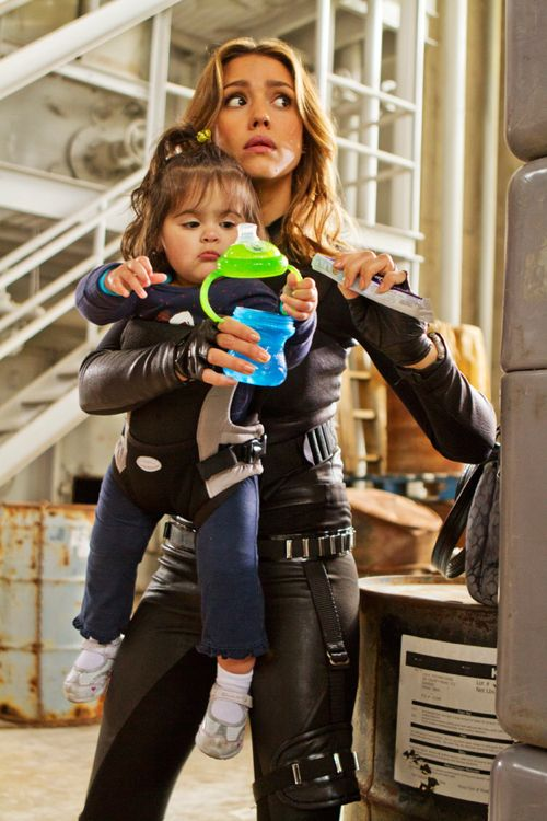 FIRST LOOK: Jessica Alba in 'Spy Kids 4: All The Time In The World'