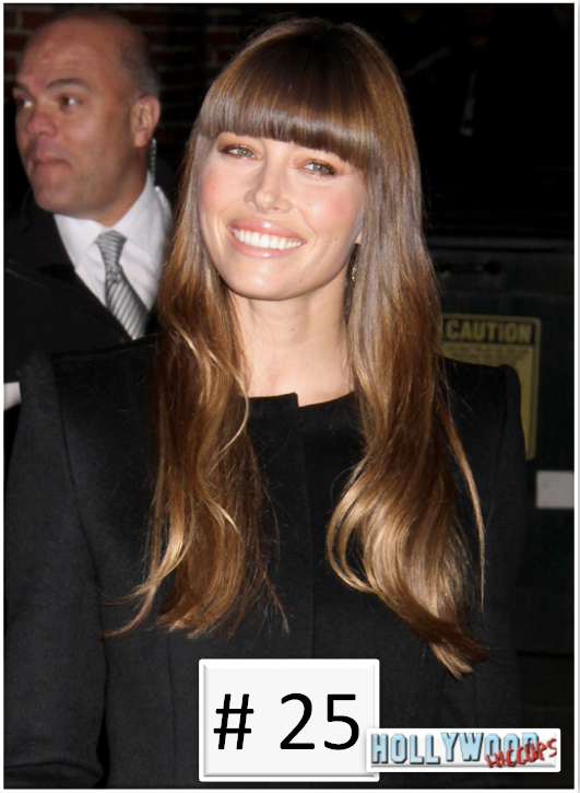 25 Days 'Til Christmas Countdown: Celebrity Must Have Styles - #25 Bangs