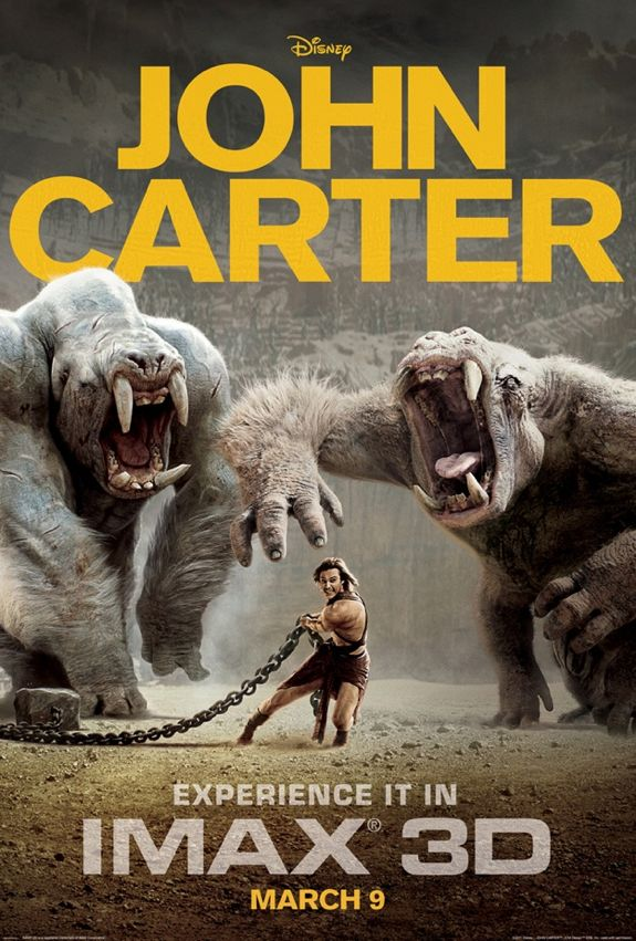 NEW: 'John Carter' IMAX Poster is CRAZY!
