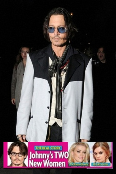 The Real Story: Johnny Depp Has Two Other Women (Photo)