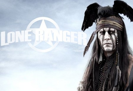 Johnny Depp Takes a New Approach to Tonto's Look in 'The Lone Ranger' (Photo)