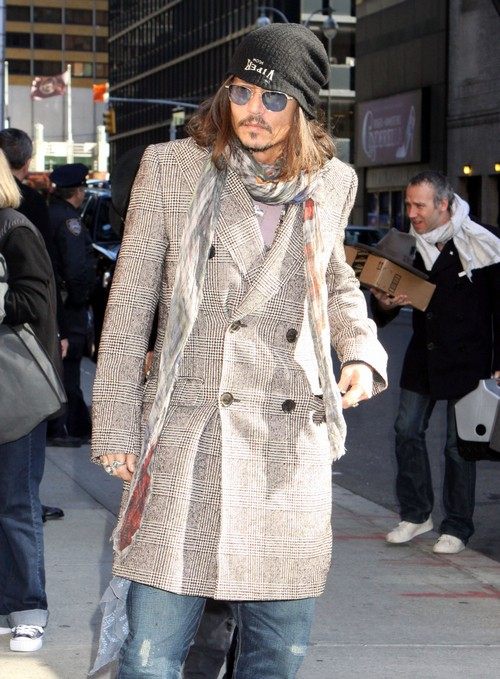 Johnny Depp Wouldn't Sleep With Kate Moss In Her Paris Apartment