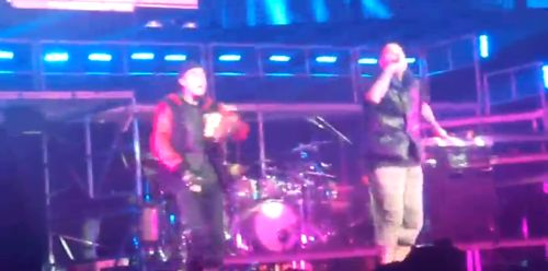 Justin Bieber and Chris Brown Performing Look At Me Now in Australia