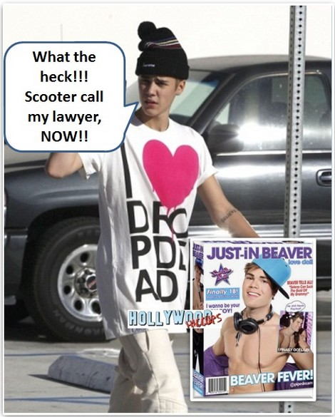 Totally Inappropriate!  Justin Bieber Sex Doll!