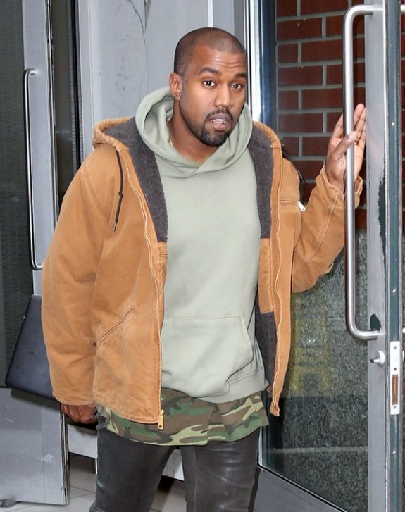 Kanye West Steps Out In New York Amid New Beck Diss
