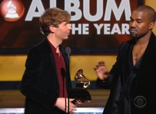 Kanye West Grammys Embarrassment Storms Stage AGAIN and Disses Beck VIDEO #Grammys