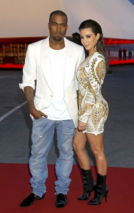 Kim Kardashian Shows Kanye West Who's The Boss