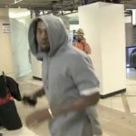Kanye West Temper Tantrum Attacks TMZ Photographer At LAX (VIDEO)