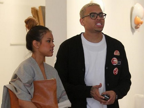 Karrueche Tran is Living With Chris Brown Again!