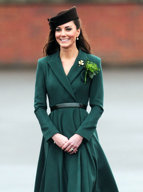Kate Middleton Knocks 3 Soldiers Out Cold On St. Patrick's Day