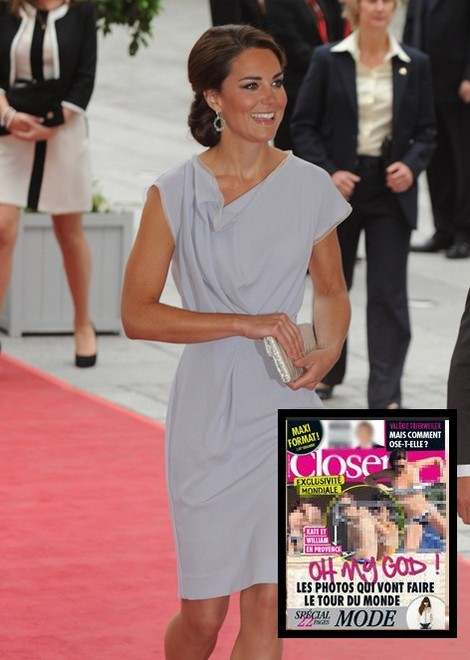 Panic At The Palace: Kate Middleton Topless Photos Released (Photo)