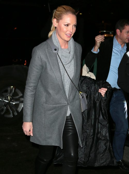Katherine Heigl Returns To Her NYC Hotel