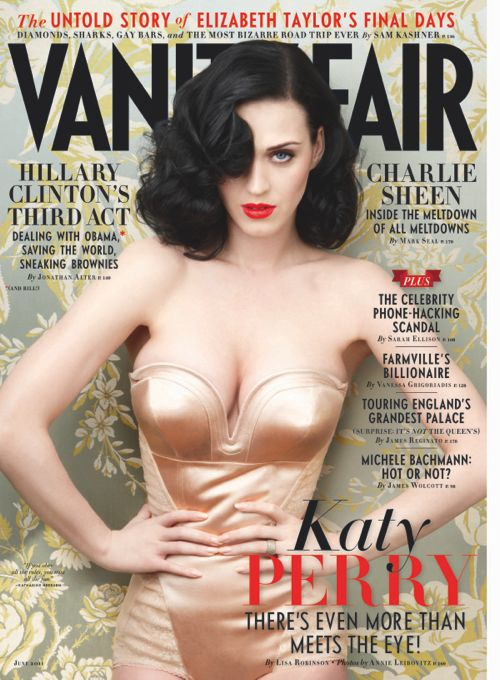 Katy Perry Scorches Cover of Vanity Fair – June 2011