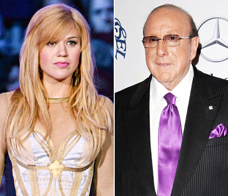 Kelly Clarkson Clive Davis