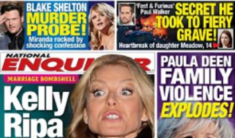 Kelly Ripa Furious Over Husband Mark Consuelos' TV Hookup (PHOTO)