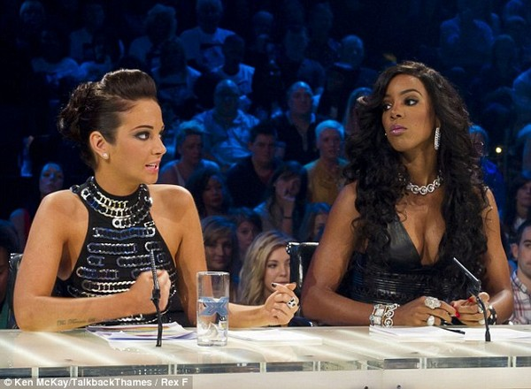 Kelly Rowland X Factor Exit