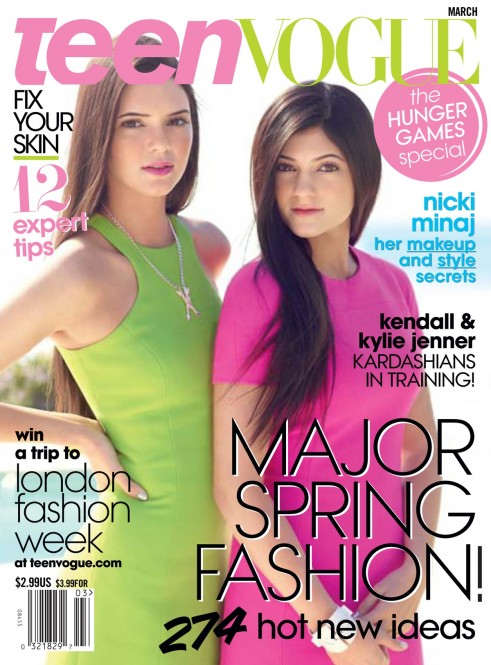 Kendall and Kylie Jenner Cover Teen Vogue