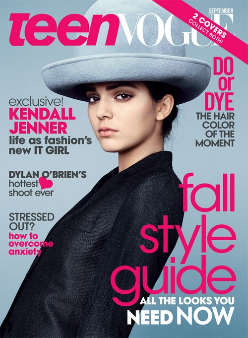Kendall Jenner Covers Teen Vogue, Always Wanted To Be A Model