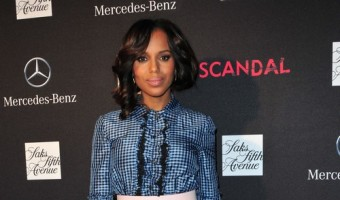 Kerry Washington Baby Bump: Shows Up Pregnant At Scandal Premiere Party