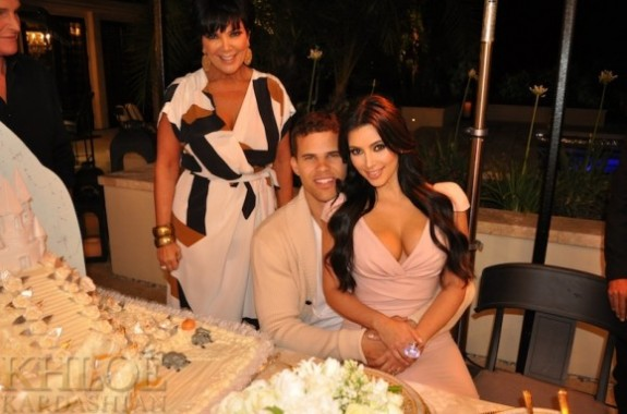 Kim Kardashian and Kris Humphries Engagement Party