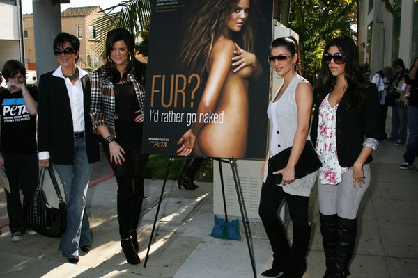 Khloe Kardashian Reveals She No Longer Supports PETA After They Flour-Bombed Kim Kardashian