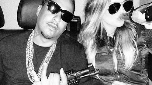 French Montana and Khloe Kardashian Post Gun Photo On Instagram, Causes Massive Controversy
