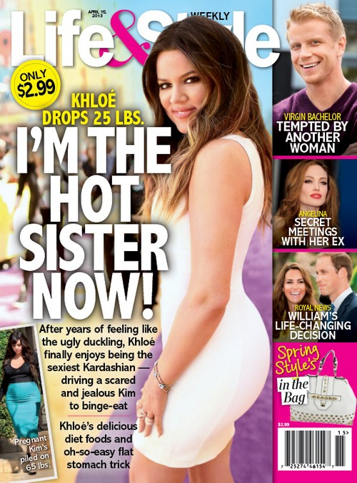 Khloe Kardashian Says She Is The Sexiest Kardashian: No More Ugly Ducking