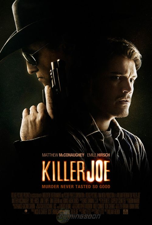 Matthew McConaughey: &#8216;Killer Joe&#8217; Poster is INTENSE
