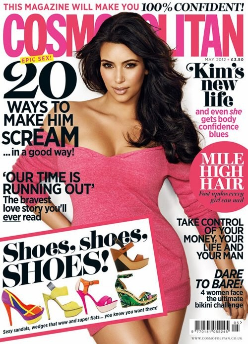Kim Kardashian Talks Her New Life & Dating Again to UK Cosmo