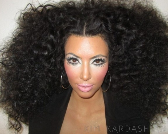 Kim Kardashian Changes To Diana Ross In New Photo Shoot &#8211; (PHOTO)