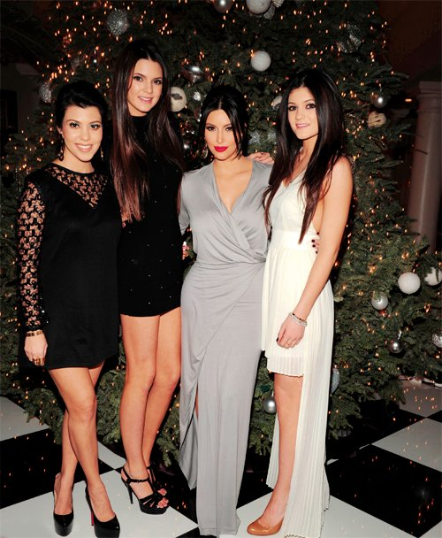 Kim Kardashian Kendall and Kylie