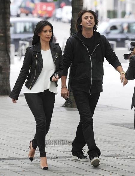 Kim Kardashian and BFF Jonathan Cheban FIghting!
