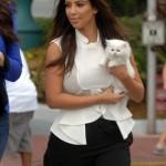 Kim Kardashian's Cat Mercy Dies–Did Kim's Neglect Kill The Cat?
