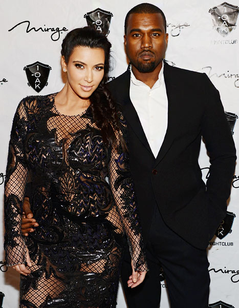 Kanye West Wants Kim Kardashian In The Recording Studio And Drop Some Vocals Whilst Pregnant