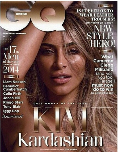 Kim Kardashian Poses Naked In British GQ, Named 'Woman Of The Year' By Magazine