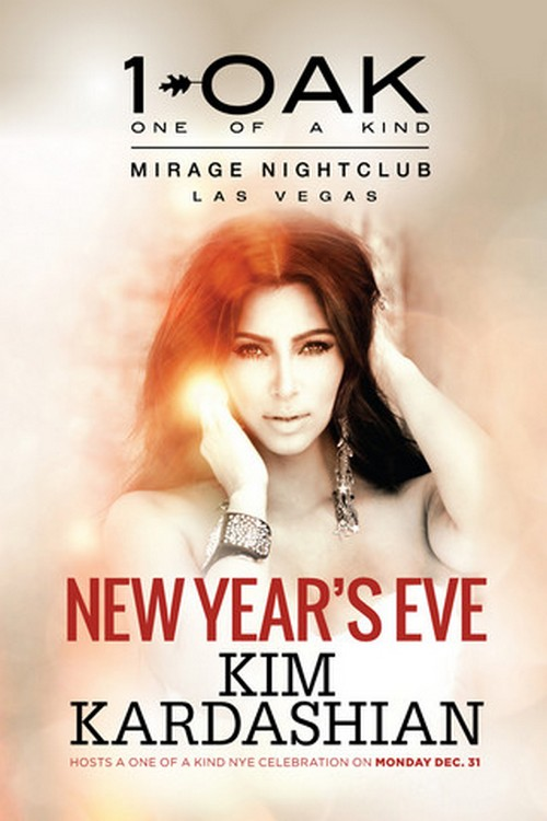 Kim Kardashian and Her Baby Bump Host New Year&#8217;s Eve Party (Photos)