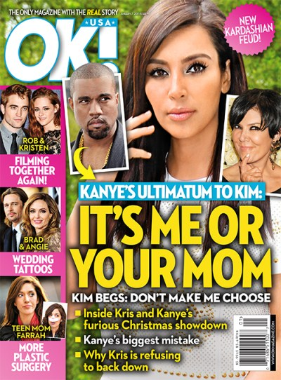Kris Jenner and Kanye West Fight Over Kim