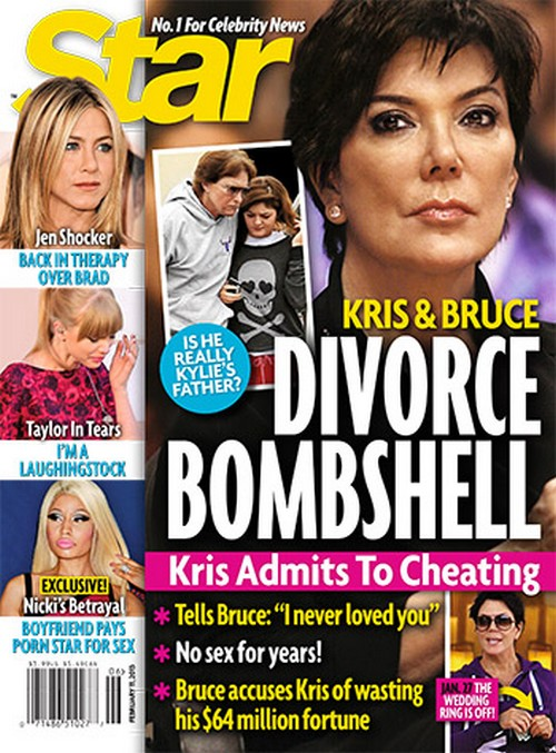 Kris Jenner and Bruces Divorce Fueled By Kylie Jenner Paternity Questions