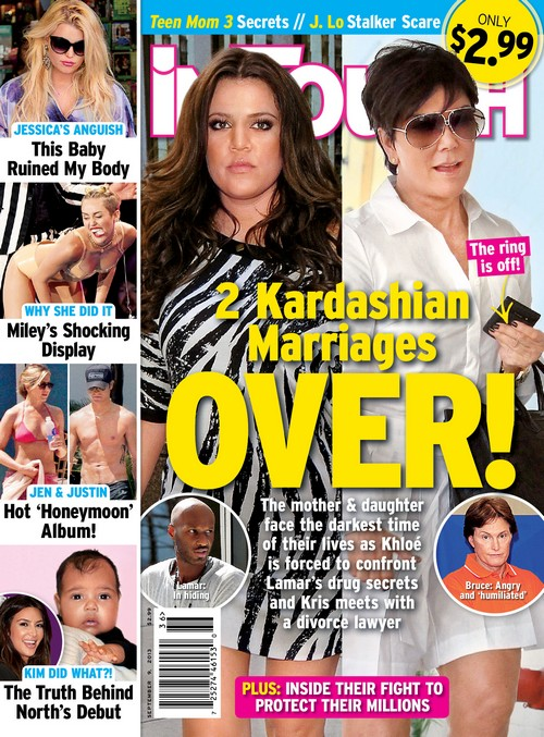 Kris Jenner & Bruce Jenner Separated For Months: Kris Removes Her Ring!