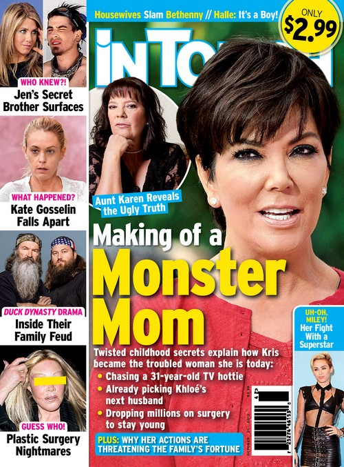Kris Jenner's Sister Karen Houghton Reveals Why Kris is a Monster Mom (PHOTO)