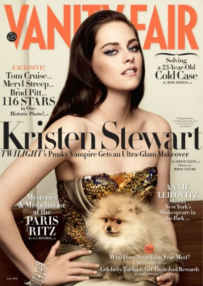 Kristen Stewart Tells Vanity Fair She's A Weirdo Who Likes To Smoke Pot