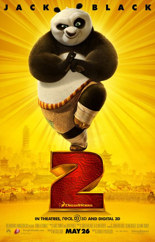 Brand NEW 'Kung Fu Panda 2′ Trailer and Poster