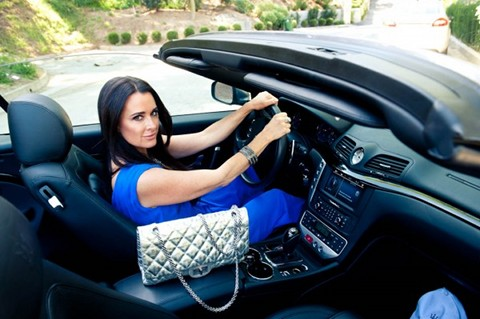 "Real Housewives Of Beverly Hills Star Kyle Richards Rocks Out To ""Down On Me"" By Jeremih"