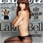 Lake Bell Poses Naked On The Cover Of Esquire Magazine