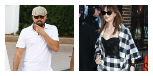 Leonardo DiCaprio Hitting On Dakota Johnson